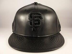 MLB San Francisco Giants New Era 59FIFTY Fitted Hat Cap Black ... ee19db53e5b