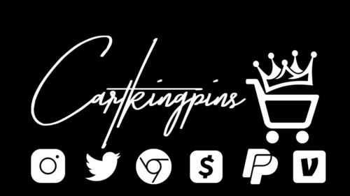 International ONLY Cartkingpin  Label And Business Card And Sticker Option