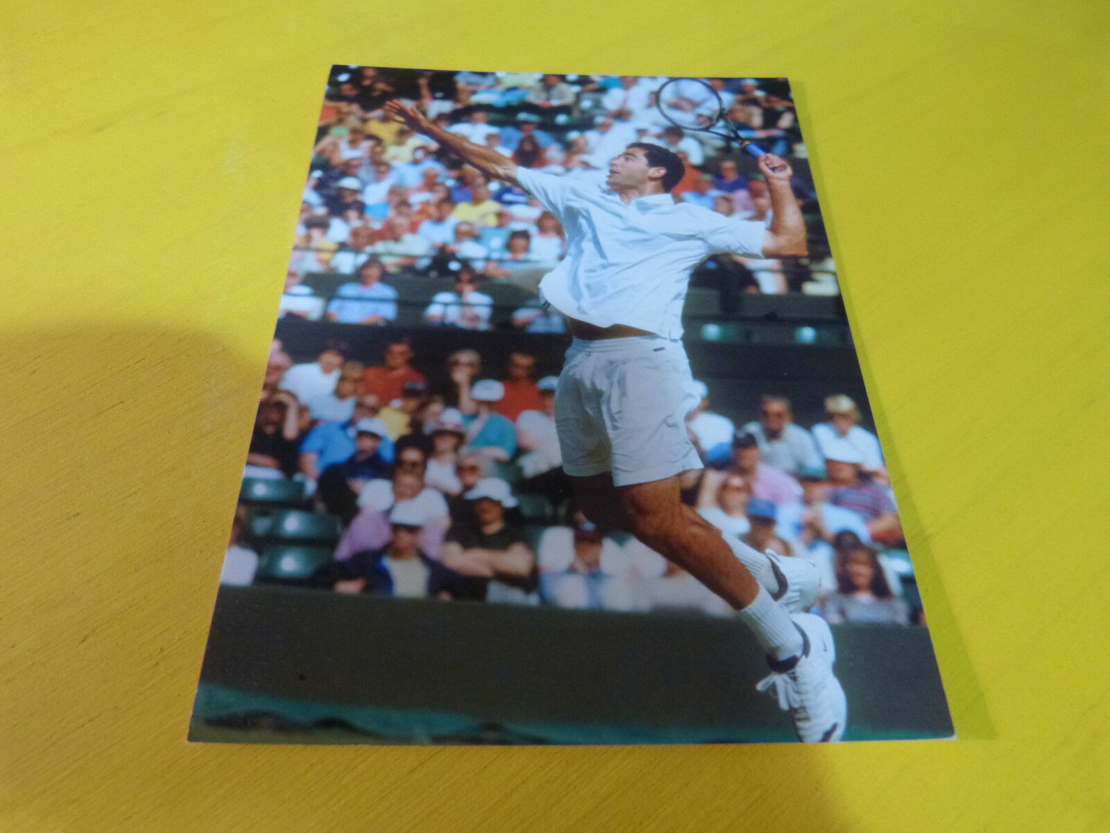 PETE SAMPRAS - Carte !!!!!! !!!!!! Carte WIMBLEDON 1998 !!!!!!!!!!!!!!!! bcde00