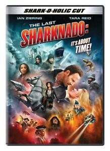 The Last Sharknado: Its About Time (DVD, #6, 2018) Shark - O - Holic Cut NEW