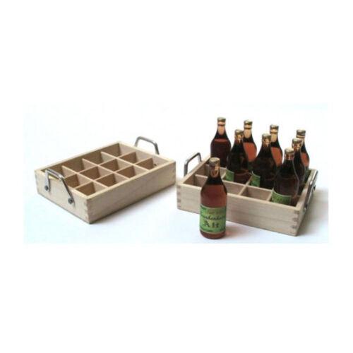Amor a mano 46126 cervezas en blanco el recuadro 1:12 las marcas para casa de muñecas (0121) nuevo! #
