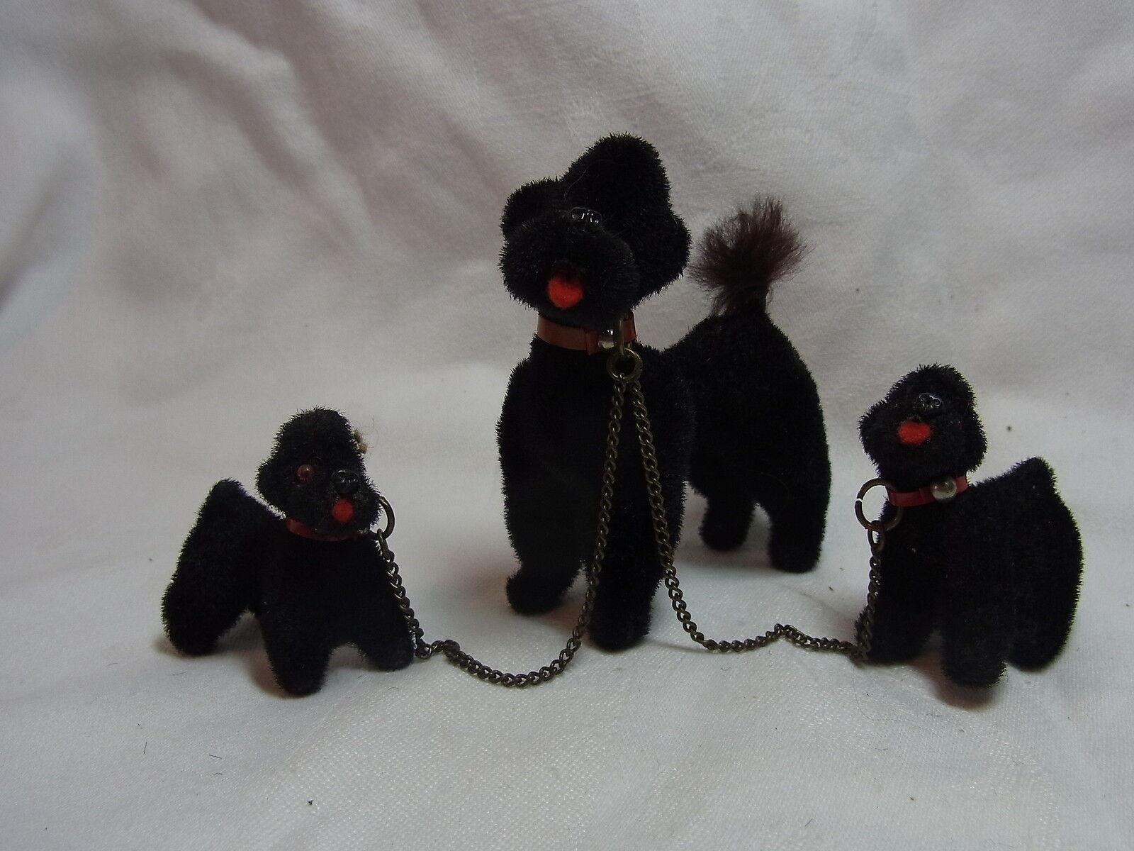 Vintage German Wagner Kunstlerschutz Animal Monkey Head Label Dog Family  BI