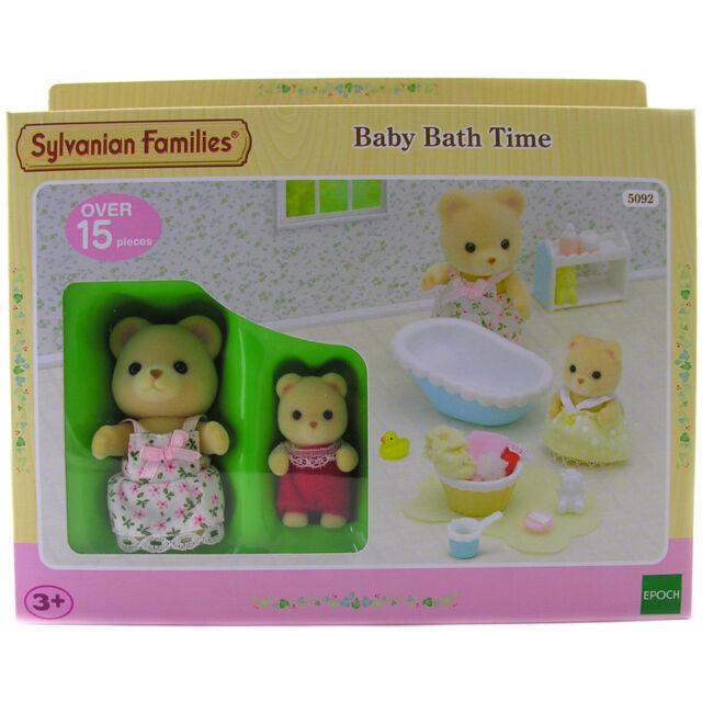 Sylvanian Families Baby Bath Time NEW