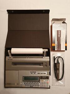 Pocket-Computer-SHARP-PC-1600-CE-1600P-1600F-1601N-2xCE-161-686