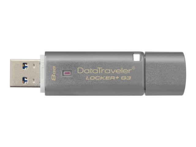 G3 USB 3.0 Flash Drive DTLPG3//8GB DTLPG3//16GB Kingston DataTraveler Locker