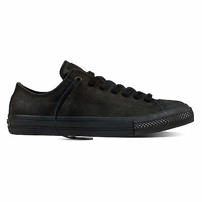 Converse Mens Chuck Taylor II Low Lux Leather Trainers
