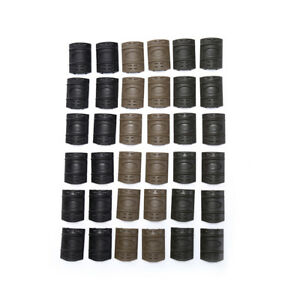 12pcs-lot-Rifle-Weaver-Picatinny-Hand-Guard-Quad-Rail-Covers-Rubber-Tactical-R