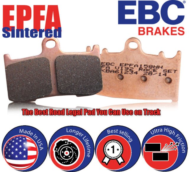 Front Right EBC Sintered-Fast Street and Track Day Brake Pads for Kawasaki KLE