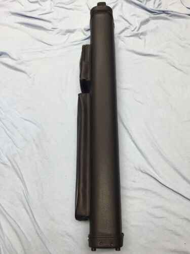 Vincitore 4 Butt 6 Shaft 4x6 Smooth Black Leatherette Cue Case By J/&J