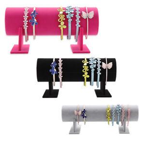 30cm-36cm-50cm-Headband-Hair-Band-Holder-Boutique-Store-Display-Stand-Rack-Black