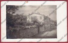 GENOVA SESTRI LEVANTE 146 Via SARA Cartolina PRIVATA REAL PHOTO viaggiata 1938