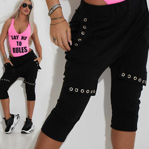 By-Alina-Mexton-Shorts-Caprihose-Boyfriendhose-Freizeithose-Bermuda-XS-M