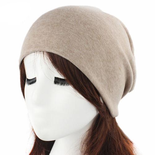 Unisex Women Men Soft Hats Fashion Hip Hop Cap Casual Beanie Baggy Hat Head Wrap