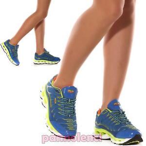 Toocool - Scarpe donna sneakers da ginnastica fitness sport palestra sportive nuove 7127[7152 Grigio/Fuxia,38]