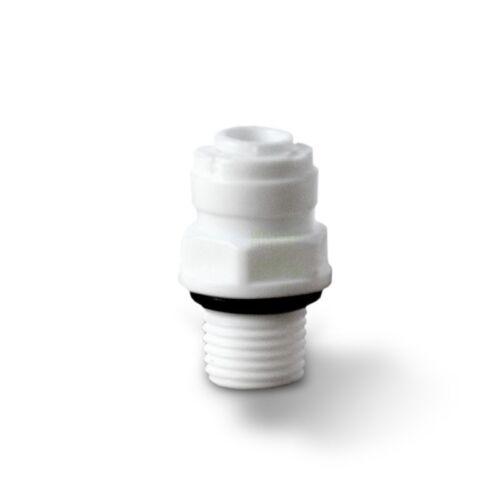 "Selbstdichtender Adaptateur réfrigérateur Filtre AG 1//4/"" x 1//4/"" tuyau"