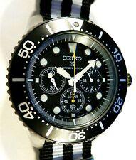 outlet store de037 c71c9 Seiko Solar Chronograph SSC021P1 Ssc021p Mens Watch for sale ...