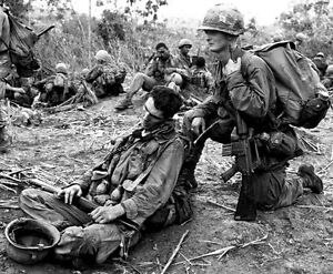 Vietnam war us army 101st airborne exhausted from patrol 85x11 image is loading vietnam war u s army 101st airborne exhausted from sciox Image collections