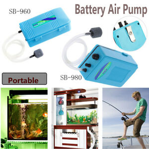 Quiet-Aquarium-Battery-Backup-Operated-Air-Pump-Aerator-Oxygen-Pump-Air-Stone