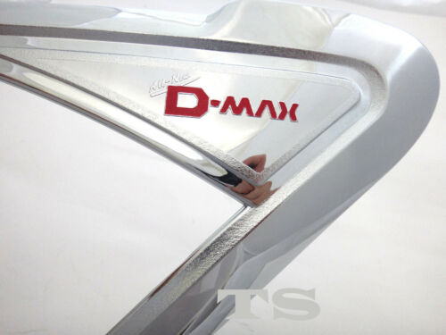CHROME FRONT HEAD LIGHT LAMP COVER FOR ISUZU D-MAX DMAX V-CROSS 2012-2015 TRUCK
