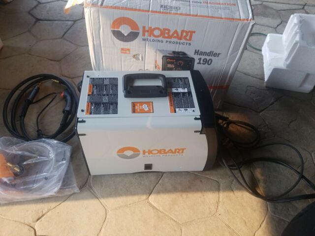 Hobart 230V 190 MIG Welder - 500554 for sale online | eBay