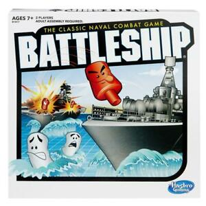 NEW-HASBRO-THE-CLASSIC-NAVAL-COMBAT-GAME-BATTLESHIP-B1817