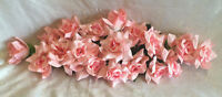 Pink Swag Silk Wedding Flowers Roses Arch Gazebo Decor Centerpieces Reception