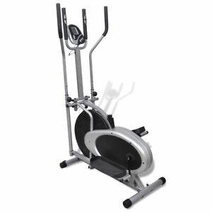 vidaXL-Orbitrac-Elliptical-Trainer-Exercise-Bike-4-Pole-Pulse-Home-Fitness