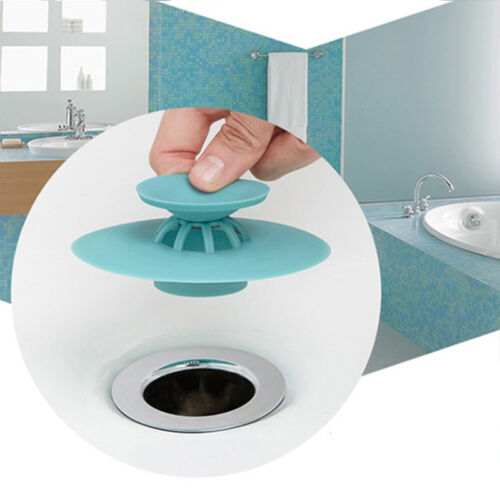 Creative Silicone Tub Drain Stopper//Strainer//Hair Catcher Kitchen Sink Stopper