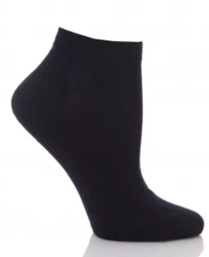 6 Pairs Ladies Woman White Black Trainer Ankle Fresh Feel Sports Socks Size 4-7