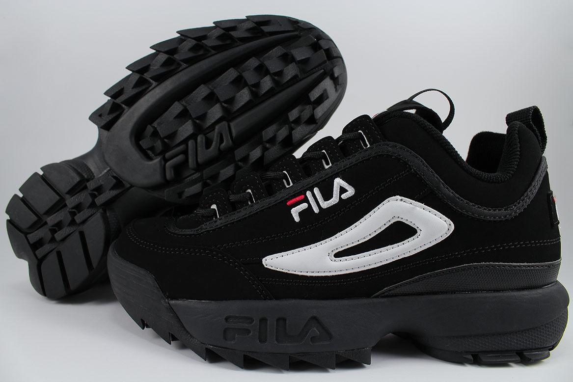 FILA DISRUPTOR II 2 BLACK/WHITE/RED