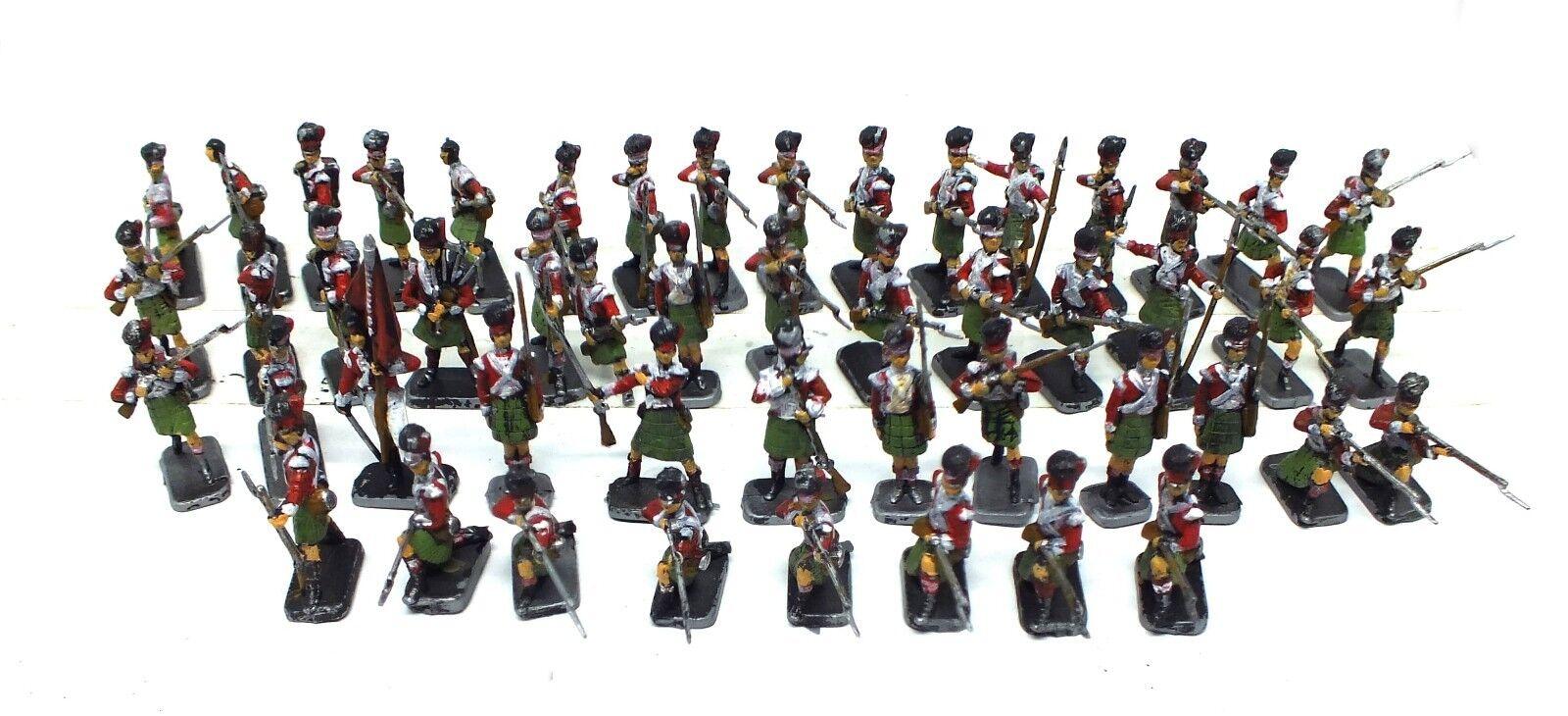 Italeri - Granaderos Highlander Infantry (1815) Painted - SET6004 - 1 72