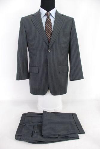 Wool Made da X uomo Abboud 29w 36s Center Grigio Stripe Abito Vent Joseph Usa 2btn 0pqRWqH4