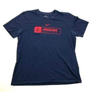 NIKE University Of Arizona WILDCATS Athletics Shirt Size XL 1X Athletic DRI-FIT