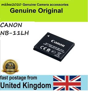 Li-Ion Genuine Canon Battery Pack NB-11LH NB-11L 3.6v 800mAh 2.9Wh