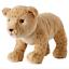 miniatura 28 - IKEA-PELUCHE-PANDA-SQUALO-CANE-ANIMALI-Natalizi-per-Bambini-Giocattolo-Peluche-Peluche