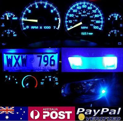 Blue Full LED Conversion Kit (dash HVAC Parkers Roof) Toyota Corolla KE70 AE71
