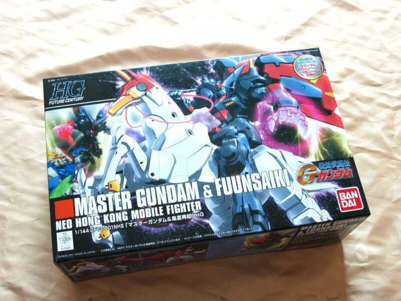 Bandai 1  144 HGFC 128 Master Gundam och Fusaniki