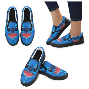 women sneaker custom lilo and stitch casual slip on ladies