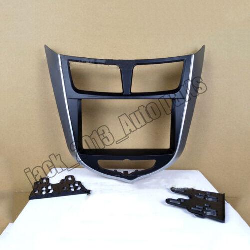 For Hyundai i-25//Accent//Solaris//Verna Car Stereo Fascia Dash Panel Radio Frame A