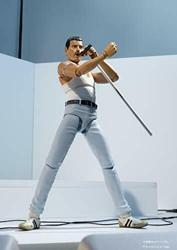 figure Japan Preorder Figuarts Freddie Mercury Live Aid Ver Bandai S.H
