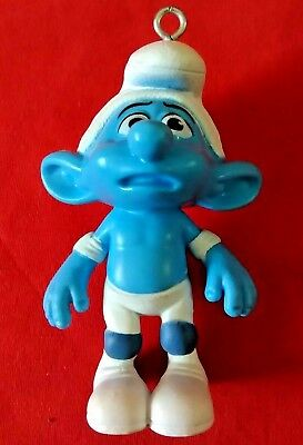 2011 Peyo McDonald/'s Panicky Smurf Action Figure