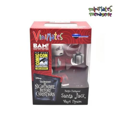 Vinimates Nightmare Before Christmas SDCC Battle Damaged Santa Jack Vinyl Figure