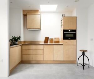 Details about Baltic Birch Plywood Kitchen Doors Handmade in the UK can fit  Ikea Metod units
