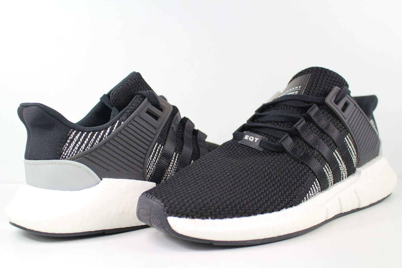 Adidas EQT Support 93 17 Boost Core Black White Size 12.5 BY9509 Equipment