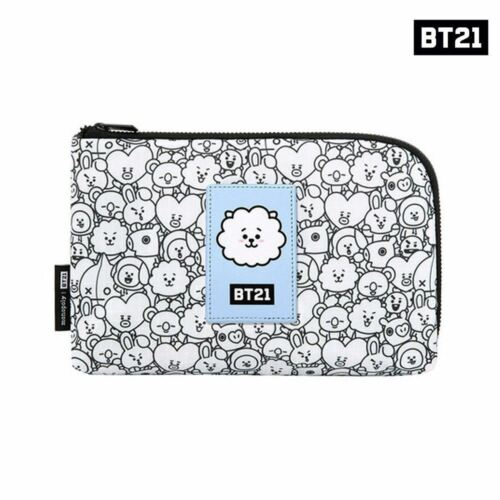 BTS BT21 Official Authentic Goods monopoly Cable Pouch COOKY CHIMY  TATA Etc