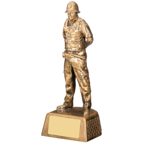 Male Police Trophy Emergency Services Achievement Award FREE Engraving RM911
