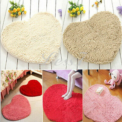 Perfect Conspicuous Shaped Pad Chenille Rug Shaggy Door Mat Carpet   Bathroom UR