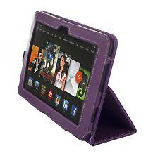 "NEW Kyasi Seattle Classic Tablet Case for Amazon Kindle HDX 8.9"" Deep Purple"