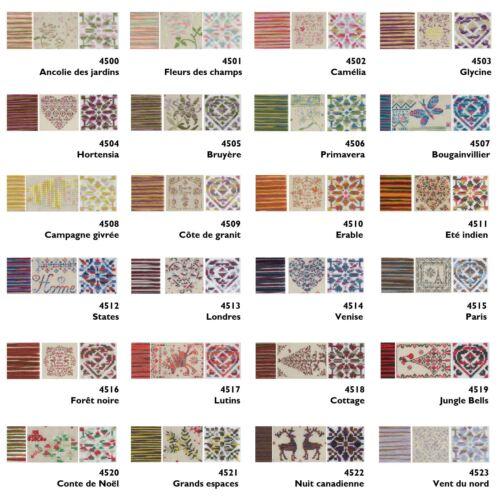 DMC Coloris Threads Cross Stitch Embroidery 100/% Cotton 8 Metres