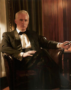 JOHN-SLATTERY-GENUINE-AUTHENTIC-SIGNED-MAD-MEN-10X8-PHOTO-AFTAL-UACC-9780